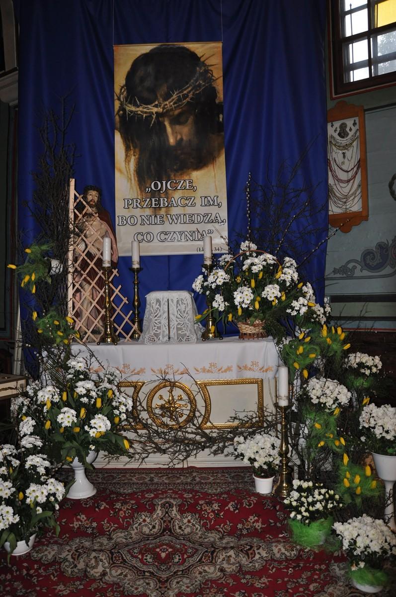 Wielkanocny Wystrój Kościoła Parafia św Joachima W
